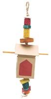 Living World Nature's Treasure House Foraging Box, For small and medium hookbills
