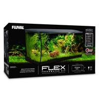 Fluval FLEX Aquarium Kit - Black - 123 L (32.5 US Gal)