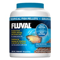 Fluval Tropical Fish Medium Sinking  Pellets, 150 g (5.29 oz)