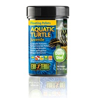 Exo Terra Aquatic Turtle Juvenile Floating Pellets - 0.7oz, 21g