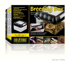 "Exo Terra Breeding Box 205 x 205 x 140mm / 8"" x 8"" x 5.5"""