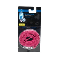 "Catit Style Nylon Cat Leash, Urban. Size: 8mm (5/16"") x 1.2m (4ft)."