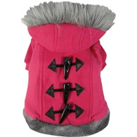 Dogit Style Fall/Winter 2011 Small Dog Clothing Collection - Hoodie Sweater, Pink, Large