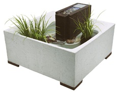 Laguna Décor Kanji decorative water feature kit, contemporary design collection