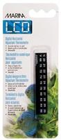 Marina Horizontal LCD Aquarium Thermometer-Centigrade-Fahrenheit, 20 to 30° C (68 to 86° F)