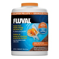 Fluval Goldfish Medium Sinking Pellets, 340 g (12 oz)