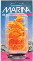 Marina Vibrascaper Plastic Plant, Ambulia Orange-Yellow, 12.5 cm (5 in)