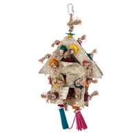 HARI Rustic Treasures Bird Toy Foraging House
