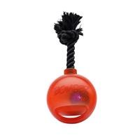 Zeus Bomber Bomb Orange Tug Ball with Flashing LED - 12.7 cm (5 in)