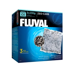 Fluval C4 Zeo-Carb, 3-pack