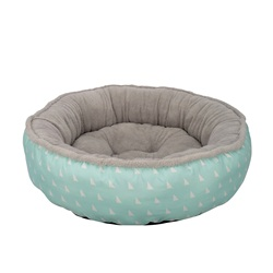 Dogit DreamWell Dog Donut Bed - Baby Blue - Large - 76 cm dia (30 in)
