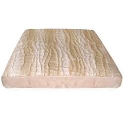"Dogit Style Square Mattress Dog Bed-Savage, Beige,Small. 64cm x 64cm x 12.7cm (25"" x 25"" x 5"")."