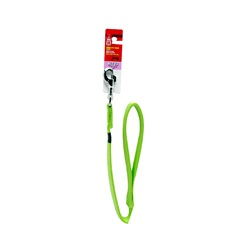 Dogit Single Ply Nylon Dog Leash-Green, XLarge (1.2m/4ft)