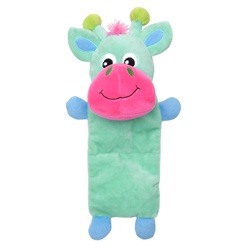 Dogit Stuffies Dog Toy - Plush Blue Reindeer - 25 cm (10 in)