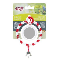 Living World Circus Toy, Mirror, Red
