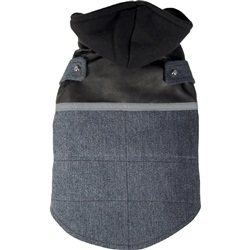 Dogit Style Fall/Winter 2011 Small Dog Clothing Collection - Denim Vest, Blue, Large