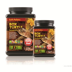 Exo Terra Juvenile Box Turtle Soft Pellets - 220 g