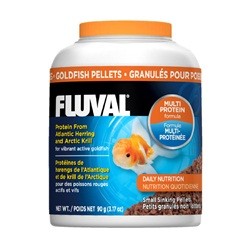 Fluval Goldfish Small Sinking Pellets, 90 g (3.17 oz