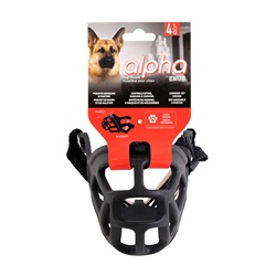 Alpha by Zeus Dog Muzzle - Size 4 - Large