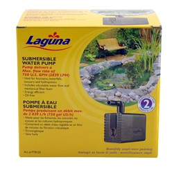 Laguna submersible water pump, for ponds up to 5600 L (1500 US Gal)
