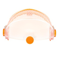 Habitrail OVO Retractable Roof Clear & Clear Orange