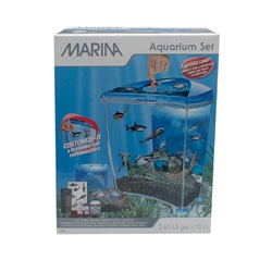Marina Aquarium Set, Shark Theme – 10 L (2.65 US Gal)