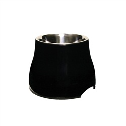 Dogit Elevated Dog Dish-Black, Large - 900ml (30.4 fl oz)