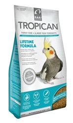 Tropican Lifetime Formula Granules for Cockatiels - 1.8 kg (4 lb)