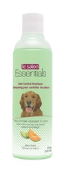 Le Salon Essentials Odor Control Shampoo, helps eliminate fur odor, melon scent, 375mL (12.6 fl oz) bottle