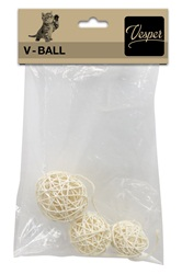 Vesper V-Ball - Light Rattan - 5/6/8 cm