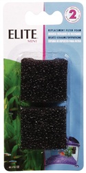 Elite Replacement Mini Foam Filter Inserts, 2-pack
