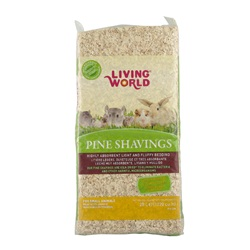 Living World Pine Shavings - 20 L - (1200 cu in)