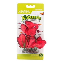 Marina Naturals Red Foreground Silk Plant