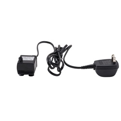 Replacement Pump with electrical cord and AC adapter for Dog Drinking Fountains (73600, 73651, 91400)