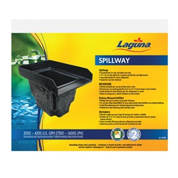 Laguna Filter Spillway for ponds up to 4500 liters (1000 U.S. gallons)