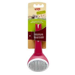 Living World Slicker Brush, Self-Cleaning
