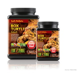 Exo Terra Adult Box Turtle Soft Pellets - 240 g