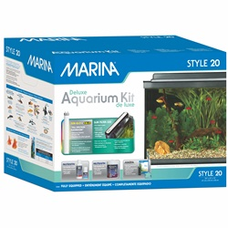 Marina Style 20 Deluxe Glass Aquarium Kit - 68 L (20 US gal)