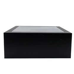 Fluval Edge replacement hood with screen, Black
