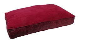 "Dogit Style Rectangular Mattress Dog Bed-Serpentine, Red, Small. 80cm x 55cm x 11.5cm (31.5"" x 21.5"" x 4.5"")"