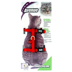 Avenue Adjustable Nylon Medium Cat Harness - Assortment of 6