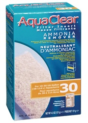 AquaClear 30 Ammonia Remover Filter Insert, 121g (4.3oz)