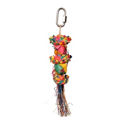 HARI Rustic Treasures Bird Toy Cube Stacker - Small