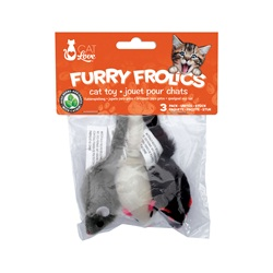 Cat Love Furry Frolics Cat Toy