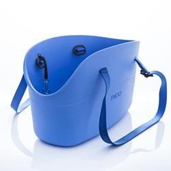 Pico By Zeus Tote Bag for Small Dogs - Blue - 45 x 17 x 26 cm