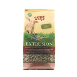 Living World Extrusion Diet for Rabbits, 1.4 kg (3.3 lb)