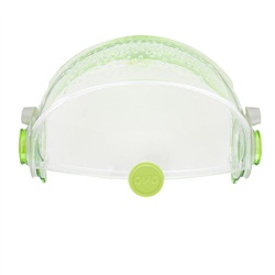 Habitrail OVO Retractable RoofClear Lime Green
