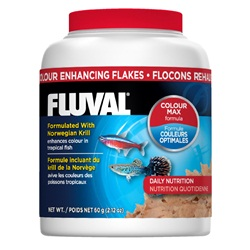 Fluval Colour Enhancing Fish Flakes, 60 g (2.12 oz)