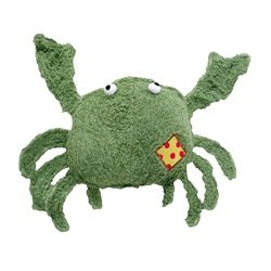 "Dogit Eco Terra Toys Natural Bamboo Fiber Dog Toy, Crab (25.4 cm/10"")"