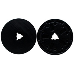 Laguna Plastic Flanges, Set Of 2